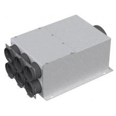 Garsą slopinanti metalinė dėžė 6x75mm, 1x160mm