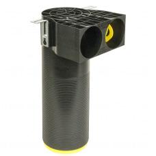 Plastikinė difuzoriaus dėžė Brofer DN 2x75 PA-125
