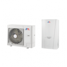 Šilumos siurblys oras-vanduo Cooper&Hunter CH-HP10SINK2 be karšto vandens talpos su vesinimo funkcijos 10 kW 230/400V su 6 kW tenu