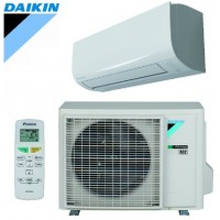 Šilumos siurblys Oras-oras DAIKIN Sensira FTXF-A SPLIT INVERTER FTXF20A+RXF20A Šildymo galia 3,5 kW, Šaldymo galia 2,6 kW Freonas R32