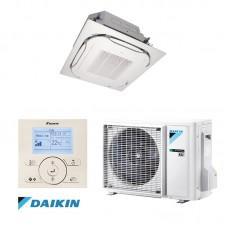 Šilumos siurblys DAIKIN SPLIT INVERTER kasetinis ROUND FLOW FCAG60A+RXM60M9 Šildymo galia 7,0 kW, Šaldymo 5,7 kW Freonas R32