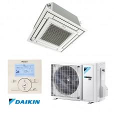 Šilumos siurblys DAIKIN SPLIT INVERTER kasetinis COMPACT FFA35A+RXM35M9 Šildymo galia 4,2 kW, Šaldymo 3,4 kW Freonas R32