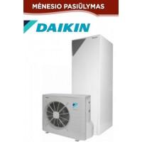 Daikin Altherma ERLQ008CV3+EHVX08S26CB9W 10,02/6,86kW,su vėsinimo funkcija, su 260l karšto vandens talpa ir valdymo pultu, 9kW tenu, 230/400V.