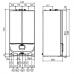 Dujinis kondensacinis katilas Immergas Victrix Superior Top 32 X 2 ErP 32 kW, montuojami su tūriniu vandens šildytuvu 3025506