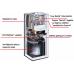 Dujinis kondensacinis katilas VIESSMANN Vitodens 222-F su integruotu 130 l. vandens šildytuvu 19 kW B2SB062