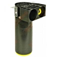 Difuzoriaus dežutė profi-air classic ilga 2xDN90mm-DN125mm Frankische 78390381 (nuimamos aklės)