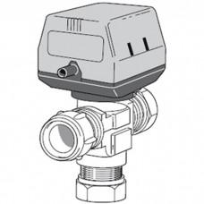 Trieigis vožtuvas su pavara (iki 30kW) VST20 NIBE 089388