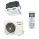 Šilumos siurblys Panasonic Split INVERTER CS-E9PB4EA+CUE9PB4EA kasetinis, šildymo galia 3,2 kW, šaldymo 2,5 kW Freonas R410A