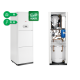 Dujinis kondensacinis katilas Radiant R2KA24/100 24kW, su integruotu vandens šildytuvu 100l