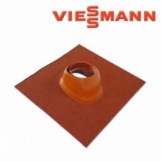 Dūmtraukio universali čerpė DN 60/100 ir DN 80/125 Viessmann raudonų čerpių spalvos 7452500