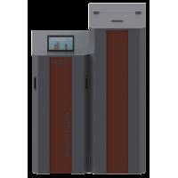 Granulinis katilas RTB 10 su 120 Kg. kuro talpa  Galia 2,5-10 kW (Danija)