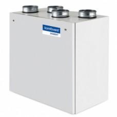 Rekuperatorius Komfovent Domekt-R-700-V automatika C6, dešininis, su el. šildytuvu, be valdymo pulto, Vertikalus
