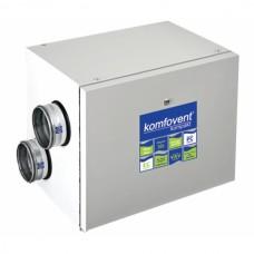 Rekuperatorius Komfovent Domekt-R-400-H automatika C6, dešininis, su el. šildytuvu, be valdymo pulto, Horizontalus