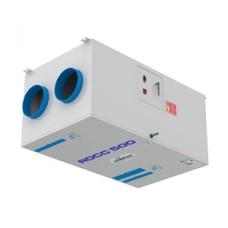 Rekuperatorius BROFER, su bevieliu valdymo pultu, su el.šildytuvu, RDCC500+4BRF