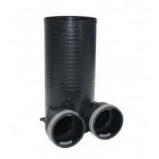 Difuzoriaus dėžutė plastikinė PA 125, 2xDn75mm-Dn125mm TTPlast  78375383