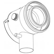 Adapteris conc.GB125 V3 DN125/80 Buderus Kst/PP