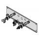 Pagalbinis montavimo įtaisas montavimui ant tinko be pakabinimo kryžmės Viessmann Vitodens 200-w katilams ZK04669