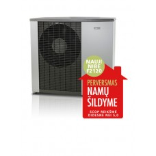 Nibe ŠILUMOS SIURBLYS F2120-8, 6,3 KW, 400 V monoblokas 064135