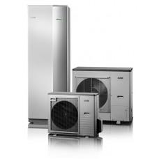 Nibe Split ACVM 3-7 kW su 270l karšto vandens talpa, su vėsinimo funkcija, 9kW tenu, 230/400V