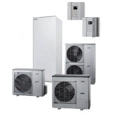 Nibe Split HBS05-16+AMS10-16+VVM310 šilumos siurblys oras vanduo 16 kW su 300l karšto vandens talpa, 230/400V