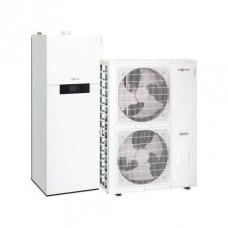 Šilumos siurblys oras-vanduo VIESSMANN VITOCAL 111-S AWBT-M 111.A12, 11,5 kW 230/400 V su integruotu 210 l karšto vandens talpa, be el. teno Z015322