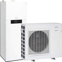 Šilumos siurblys oras-vanduo VIESSMANN VITOCAL 111-S AWBT-M 111.A04, 4,54 kW 230/400 V su integruotu 210 l karšto vandens talpa, be el. teno Z015319