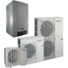 Šilumos siurblys oras-vanduo BAXI PBS-i 6 MR E 6 kW, inverterinis su 6 kW tenu su vėsinimu 230/400 V 7213851