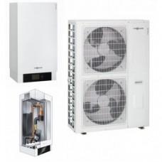 Šilumos siurblys oras - vanduo Viessman Vitocal 100-S (Z014659) AWB-E 101.A16 be karšto vandens talpos be vesinimo funkcijos  15,5 kW 400/400V su 9 kW tenu
