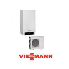 Šilumos siurblys oras - vanduo Viessman Vitocal 100-S (Z014649) AWB-M-E-AC 101.A06 be karšto vandens talpos su vesinimo funkcija  6,1 kW 230/400V su 9 kW tenu